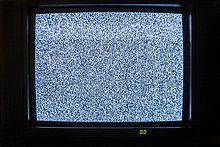 Fernsehen mit Bildstörungen