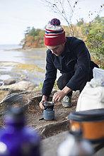 Vereinigte Staaten von Amerika,USA,Flussufer,Ufer,anzünden,camping,wandern,Ofen