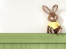 sitzend,Spielzeug,Regal,Kaninchen