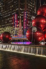 nahe,New York City,Amerika,Halle,Großstadt,Weihnachten,Dekoration,Musik,Verbindung,Klassisches Konzert,Klassik