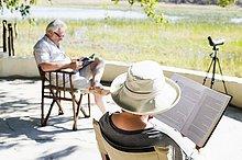 Buch,Lodge,Landhaus,Safari,vorlesen
