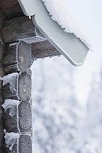Giebel,Schnee