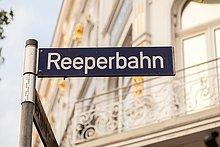 Fernverkehrsstraße,Zeichen,Reeperbahn,Signal
