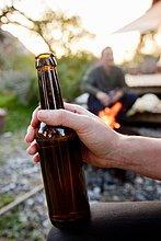 halten,Close-up,Bier,Flasche