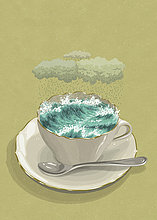 Sturm in einer Teetasse